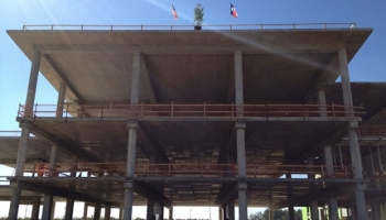 Topping Out at New NDF Facility