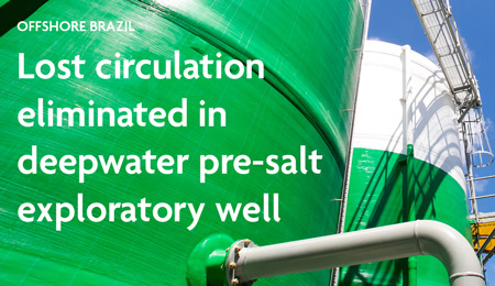 Newpark eliminates lost circulation in deepwater pre-salt exploratory well. Brazil