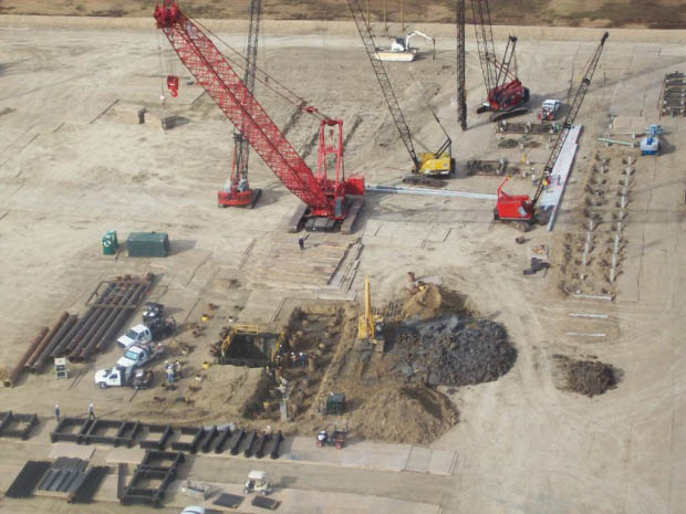 Oilfield Site Preparation - Industrial Drilling Site Preparation Services 2