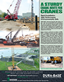 DURA-BASE Cranes Flyer